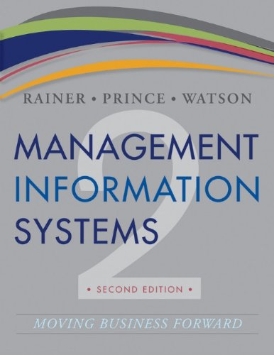 Management Information System Kelly Rainer
