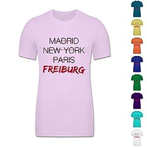 CV3001 - Figurbetontes Männer Shirt - Städte - Weltstadt Freiburg