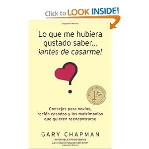 Lo que me hubiera gustado saber antes de casarme (Spanish