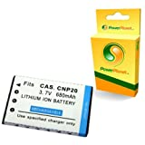 PowerPlanet NP-20 Compatible Digital Camera Battery for CASIO EXILIMby PowerPlanet