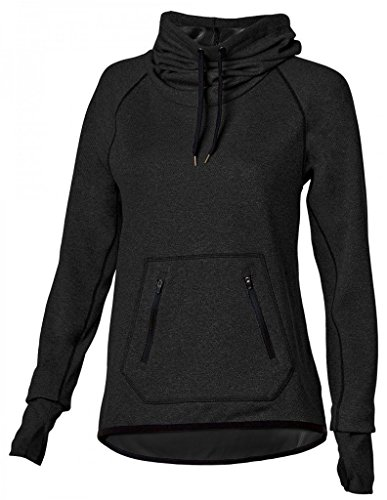 Noble Outfitters First Crush Cowl Shirt L Black (Cowl Hoodie compare prices)