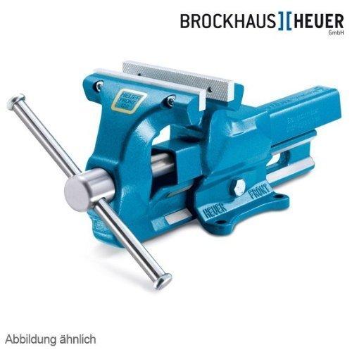 Parallel-Schraubstock-Heuer-Front-mit-wechselbaren-Backen-140-mm