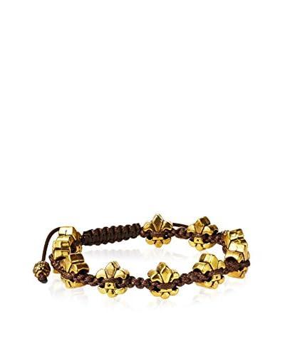 Rave by PerePaix Gold-Plated Fleur-De-Lis Bracelet
