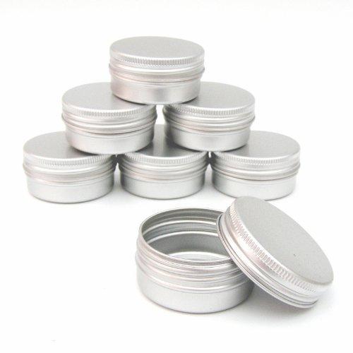 25x-aluminium-jar-pot-tin-container-15ml-for-nail-art-makeup-cosmetic-travel-creams-lip-balm-tattoos
