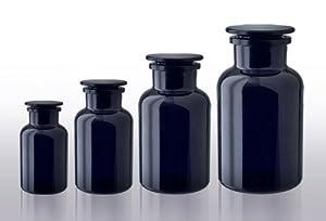 VioLiv 2 Liter Apothecary Jar, Violet Glassware