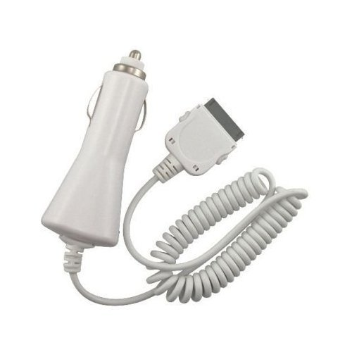 Rapidfit Car Charger For Apple Iphone 4, Iphone 3, Iphone 3G And Iphone 3Gs (Works For Most Ipods)(Charger Exactly As Pictured In Retail Package)