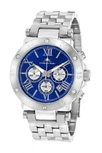 Porsamo Bleu Sasha Stainless Steel Silver Tone & Blue Women'S Watch 442Asas