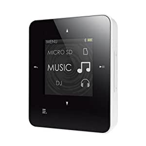 Creative Zen Style M300 8GB MP3 Player with MicroSD Slot, Voice Recorder, FM Radio, Bluetooth, BLACK/WHITE