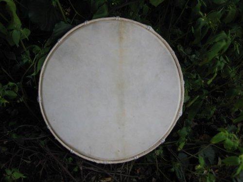 40cm Profi Rahmentrommel Trommel Schlicht Ziegenfell