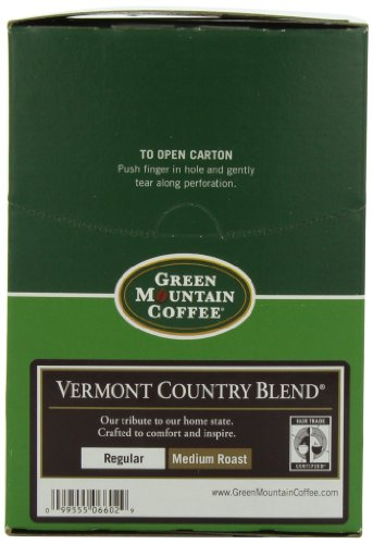 Green Mountain Coffee, Vermont Country Blend, K-Cup Portion Pack for Keurig Brewers 24-Count