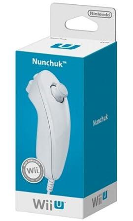 Nintendo Wii / Wii U -  Nunchaku, Blanco