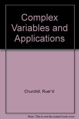 Complex variables and applications 3rd edition