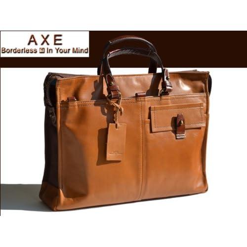[アックス] AXE モザイクII ビジネスバッグ A4 135512 CML (キャメル)