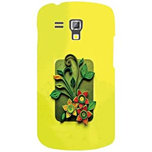 Samsung Galaxy S Duos 7582 Printed Mobile Back Cover