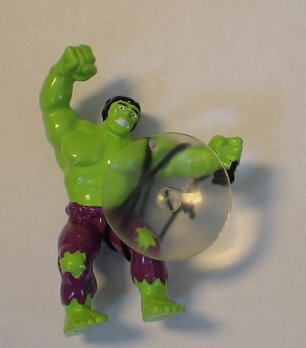 Picture of Applause Marvel Comics Incredible Hulk Pvc w/ Suction Cup Figure (B003LV06KO) (Marvel Action Figures)