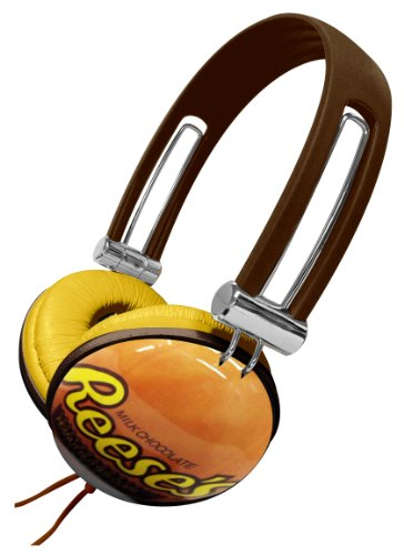 Dgl Dgl-820-Hpbc Candeez Reese'S Milk Chocolate Headphone, Brown