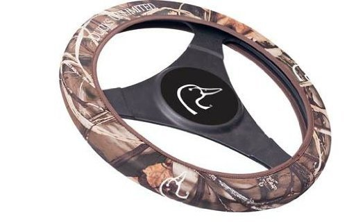 Ducks Unlimited Neoprene Steering Wheel Cover - Blades Camo (Dodge Emblem For Steering Wheel compare prices)