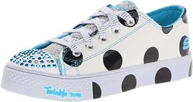 Skechers Kids Twinkle Toes Super Steps Light-Up Sneaker (Little Kid)