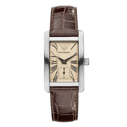 Emporio Armani Watch Women's Leather Strap AR0155 - WW