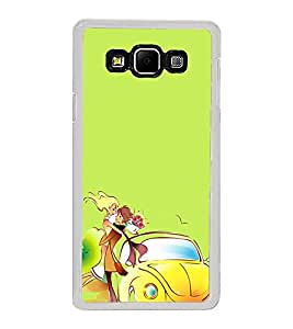 Love Couple 2D Hard Polycarbonate Designer Back Case Cover for Samsung Galaxy A8 (2015 Old Model) :: Samsung Galaxy A8 Duos :: Samsung Galaxy A8 A800F A800Y