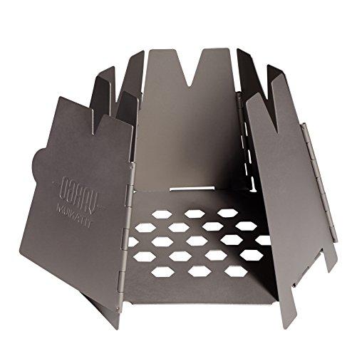 VARGO(バーゴ) チタニウム ヘキサゴンウッドストーブ 薪ストーブ コンロ 焚き火台 キャンプ用品
