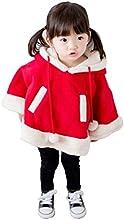 CgQgXnreg Children Fashion 3D Christmas Reindeer Buck Deer Wrap Cloak Cape