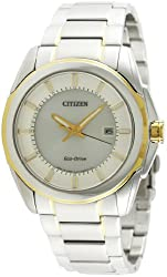 Citizen Eco-Drive Analog White Dial Mens Watch - BM6725-56A