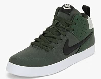 nike mens liteforce iii dark green sneakers