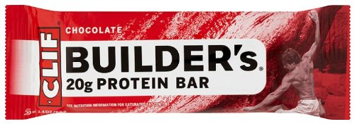 Cliff Bar Builder Bar, Chocolate, 2.40-Ounce (Pack of 12) (Cliff Bars Builder Bars compare prices)