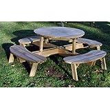 Grange Fencing Garten Tisch mit Sitze.