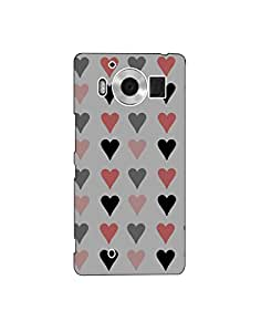 Microsoft Lumia 950 nkt03 (249) Mobile Case by Leader
