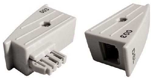 original AVM TAE RJ45 DSL Adapter für Fritz!Box o. Speedport – 4/5 belegt, nicht 1/8