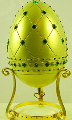 2000 - Avon Products Inc / Mattel - Barbie Empress of Emeralds : Barbie Resin Egg - Plays
