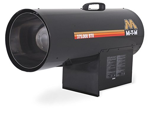 Mi-T-M MH-0375-LM10 Propane Forced Air Portable Heater, 225 000-375 000 BTU (60 000 Btu Propane Heater compare prices)
