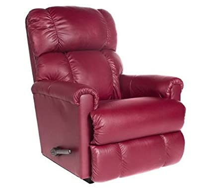 La-Z-Boy LEATHER Legacy Rocker Recliner w/ Memory Foam