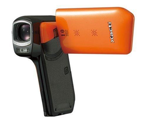 SANYO デジタルムービーカメラ Xacti ザクティ DMX-CG11 オレンジ DMX-CG11(D)