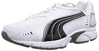 Puma Xenon Tr Synthetic Leather, Men's Running Shoes, White/Black/Puma, 6 UK