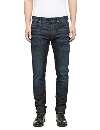 Replay Herren Tapered Jeanshose MA901 .000.525 520 Gr. W30/ L32 (Herstellergröße: 30) Blau (Blue Denim 7) thumbnail