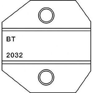 paladin tools 2032 british telecom 6 pole die for crimpall 8000 1300 series crimpers. Black Bedroom Furniture Sets. Home Design Ideas