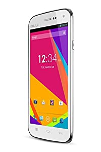 BLU Studio 5.0 II Unlocked Dual SIM Phone with Dual-Core 1.3GHz Processor, Android 4.2 JB, 4G HSPA+ and 5MP Camera - White