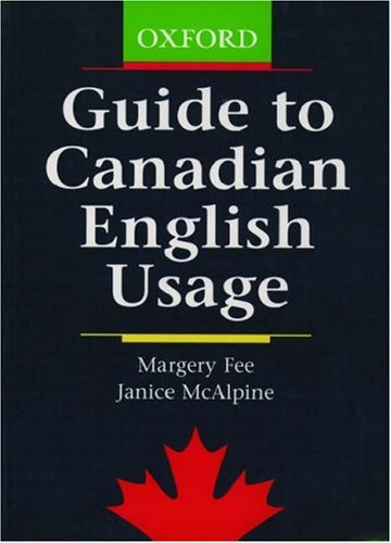 Guide to Canadian English Usage