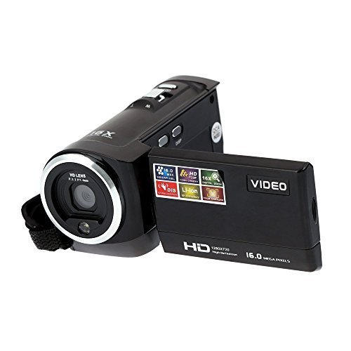 Best Buy! PYRUS High Definition 720P Digital Camcorder 2.7'' TFT LCD 270 Degree Rotation 16x Zoom Po...