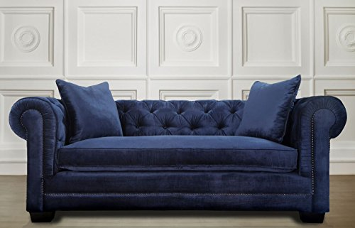 Cindy Crawford Home Beachside Blue Denim Sofa Home