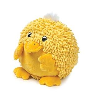 Zanies 8-Inch Moppy/Plush Barnyard Tubbie Dog Toy, Duck
