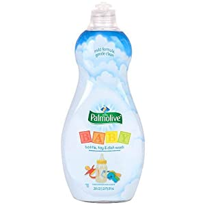 Ultra Palmolive Baby Bobble, Toy & Dish Washing Liquid - 20 oz.