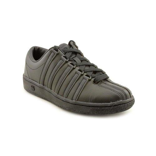 K-Swiss Men's Classic LX Lace-Up Sneaker,Black,7 M US