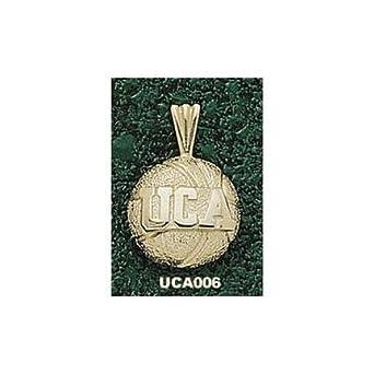 Central Arkansas Bears UCA Basketball Pendant - 14KT Gold Jewelry by Logo Art