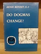 Do Dogmas Change? (The Twentieth Century…