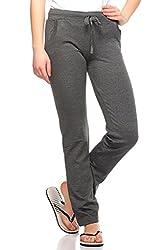 Fasnoya Solid Yoga / Track Pants for Women