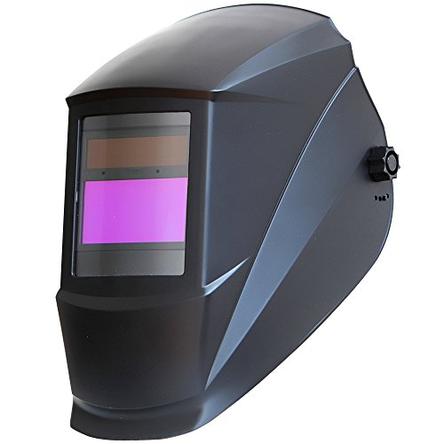 Antra-AH7-220-0000-Solar-Power-Auto-Darkening-Welding-Helmet-with-AF-220i-Shade-9-13-with-Grinding-Feature-Extra-lens-covers-Good-for-TIG-MIG-MMA
